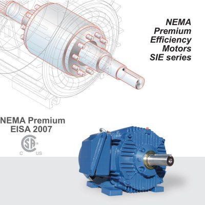 NEMA Premium Efficiency Motors SIE series