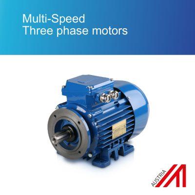 Multi-Speed Three phase motors