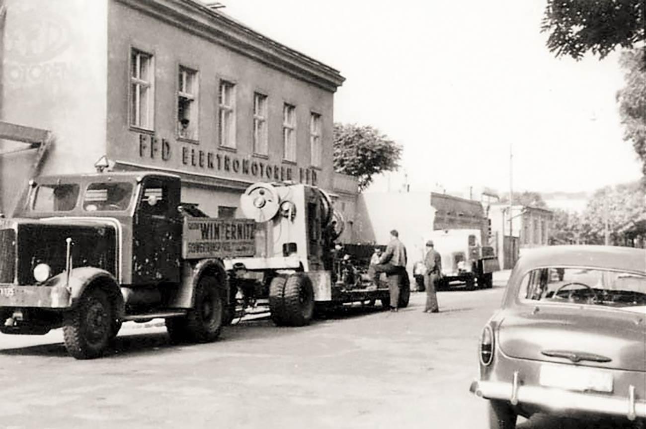 Frank & Dvorak Motors: History / Geschichte