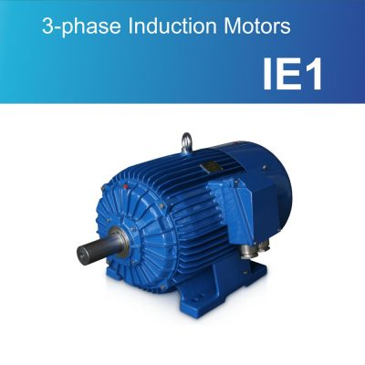 3-phase Induction Motors IE1